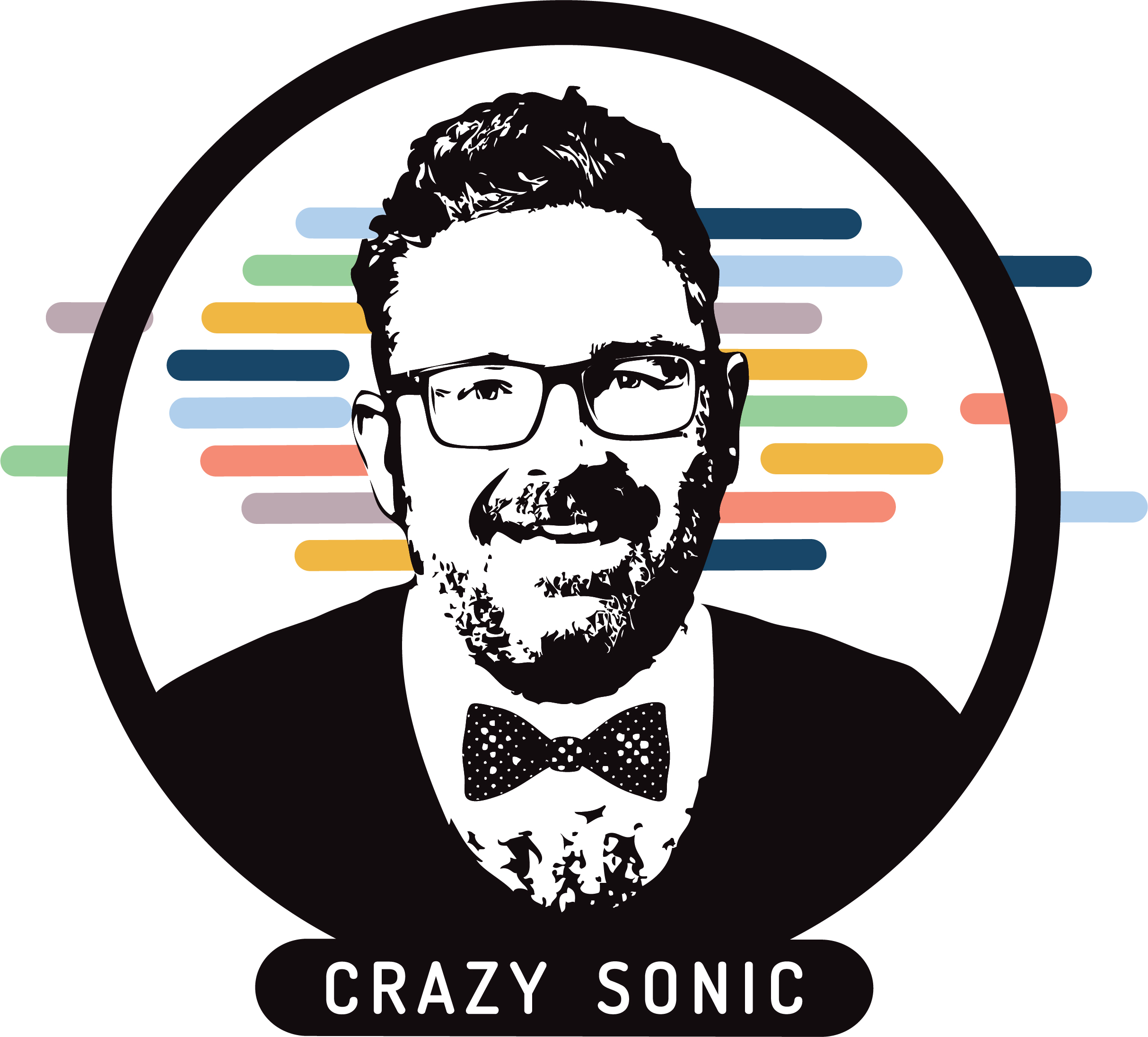 crazysonic logo color
