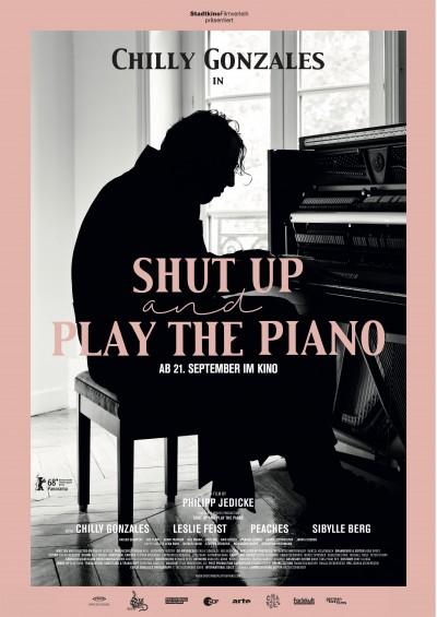 shut up and play the piano - screening room