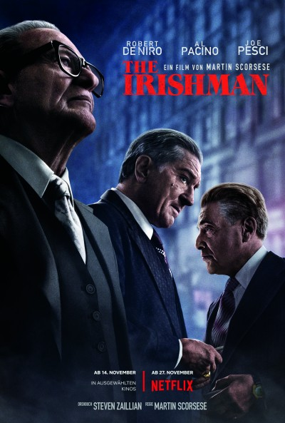 the irishman - screening room